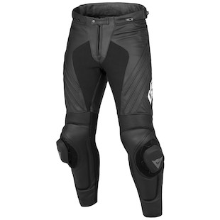 Dainese Delta Pro EVO C2 Perforated Leather Pants - (Size 58 Only) (Color: Black/Black / Size: 58) 925745