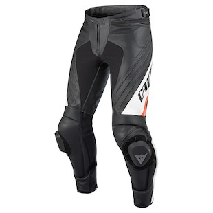Dainese Delta Pro EVO C2 Perforated Leather Pants - (Size 58 Only) (Color: Black/White / Size: 44) 924896