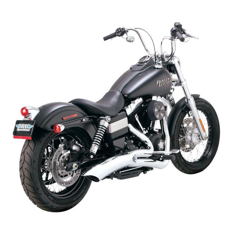 Vance & Hines Big Radius Catalytic Exhaust For Harley Dyna 2008-2010
