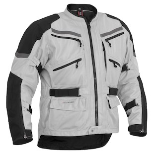 Firstgear Adventure Mesh Jacket (Color: Silver/Black / Size: MD) 933775