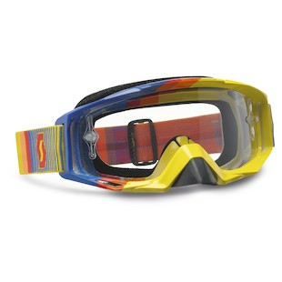 Scott Tyrant Goggles (Color: Fade Yellow/Blue / Lens: Clear) 935312