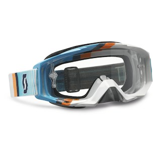 Scott Tyrant Goggles (Color: Fade Blue/White / Lens: Clear) 935311