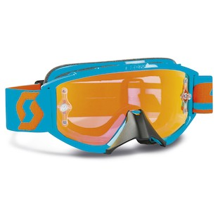 Scott Youth 89Si Pro Goggles (Color: Grid Lock White / Lens: Clear) 150156