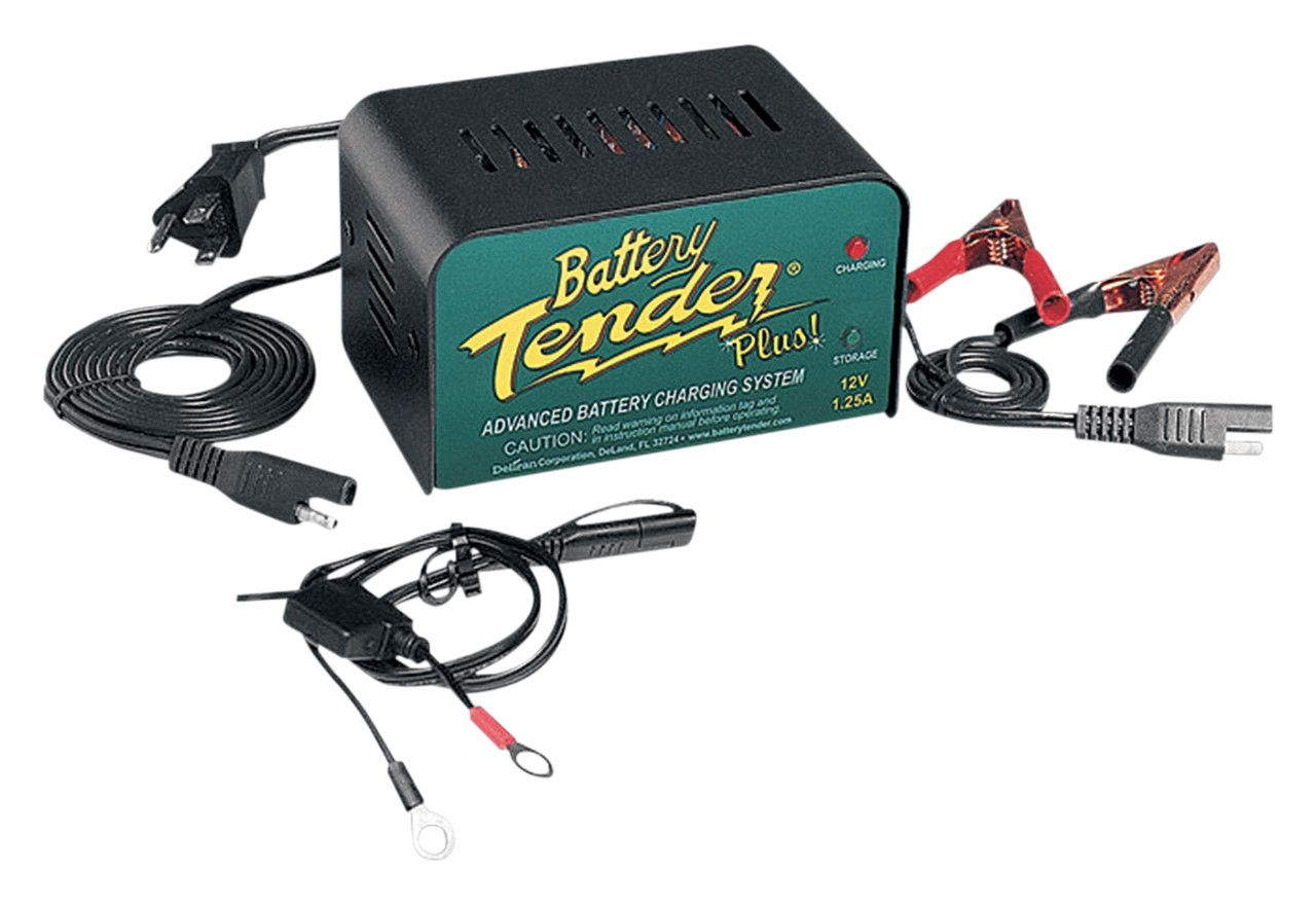battery tender plus charger cycle gear