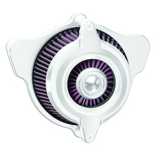 Roland Sands Power Blunt Air Cleaner For Harley Big Twin 1993-2017 (Finish: Chrome) 936326