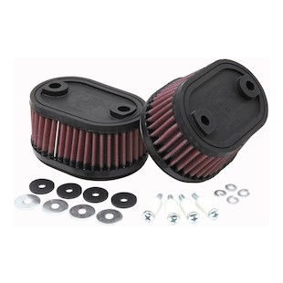 K&N Products Replacement Air Filter - Kawasaki VN750 Vulcan 86 - 06 Not For Sale Outside US Canada Mexico - KA-7586 72273