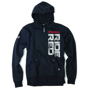 Factory Effex Honda Ride Red Hoody (Color: Black / Size: XL) 937050
