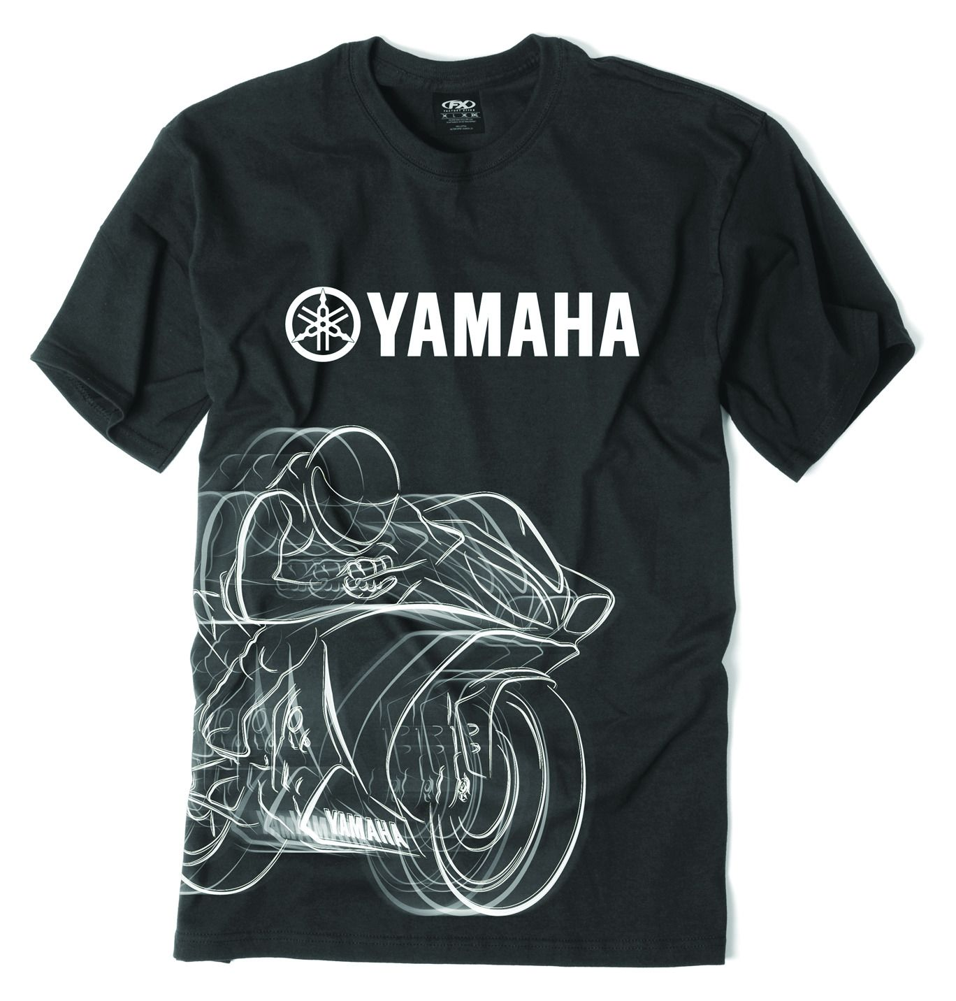 factory effex yamaha r1 t shirt cycle gear. Black Bedroom Furniture Sets. Home Design Ideas