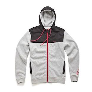 Alpinestars Luna Hoody (Size SM Only) (Color: Grey / Size: SM) 914955