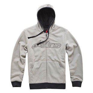 Alpinestars Verde Hoody - (Size Medium only) (Color: Grey / Size: MD) 915010