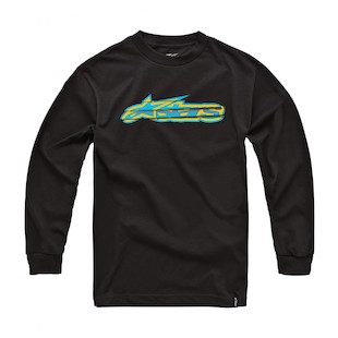 Alpinestars Cutler L/S T-Shirt (Size MD only) (Color: Black / Size: MD) 915991