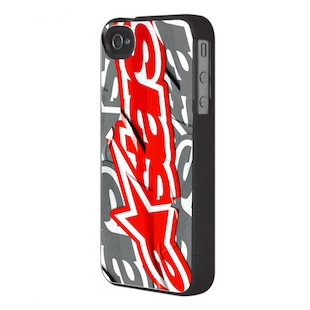 Alpinestars Stuck iPhone 4 Case (Color: Red) 921754