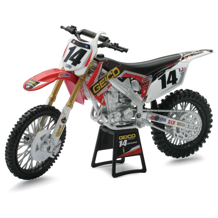 new ray toys 2012 kevin windham geico 1 6 model cycle gear