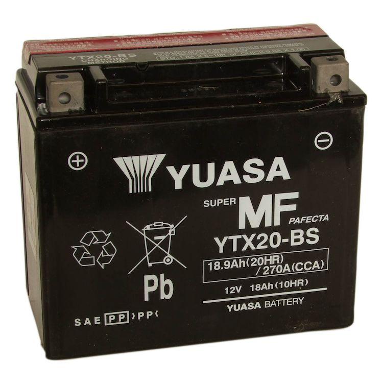 Yuasa YTX20-BS AGM Battery