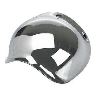 Biltwell Bubble Shield (Color: Chrome Mirror) 938298