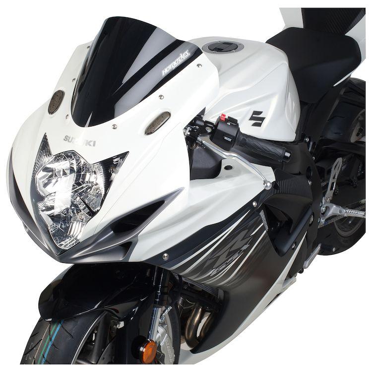 hotbodies gp windscreen suzuki gsxr 600 gsxr 750 2011 2018 cycle gear. Black Bedroom Furniture Sets. Home Design Ideas