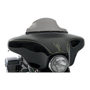 Harley Davidson Windshields 1986-1995 6, Dark Gray 5 hole batwing fairing