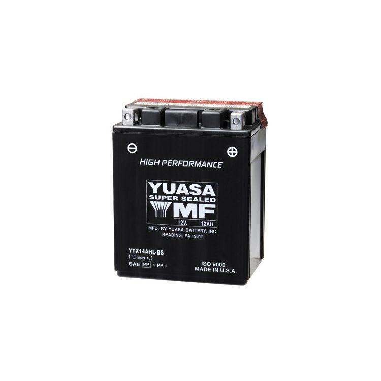 Yuasa YTX14AH-BS High Performance AGM Battery