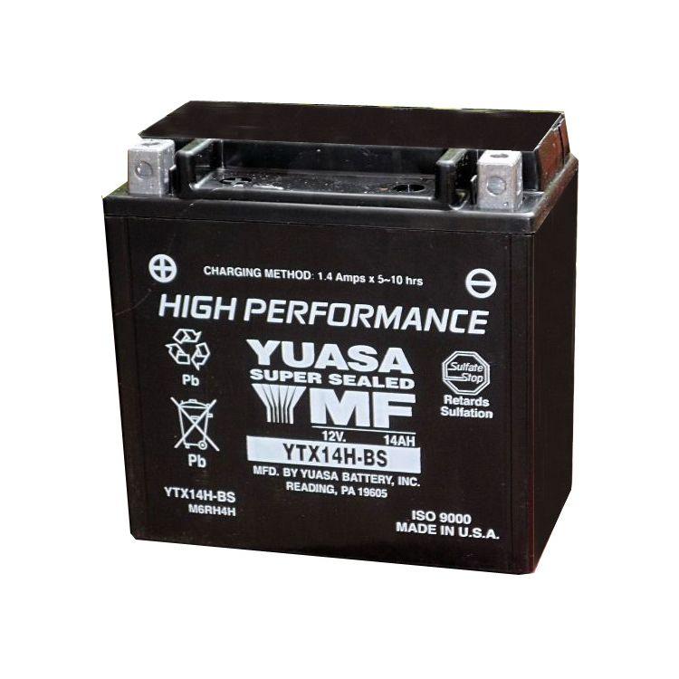 Yuasa YTX14H-BS High Performance AGM Battery