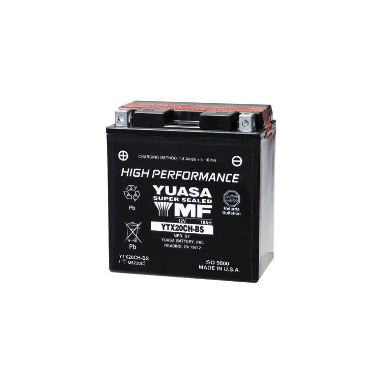 Yuasa YTX20CH-BS High Performance AGM Battery