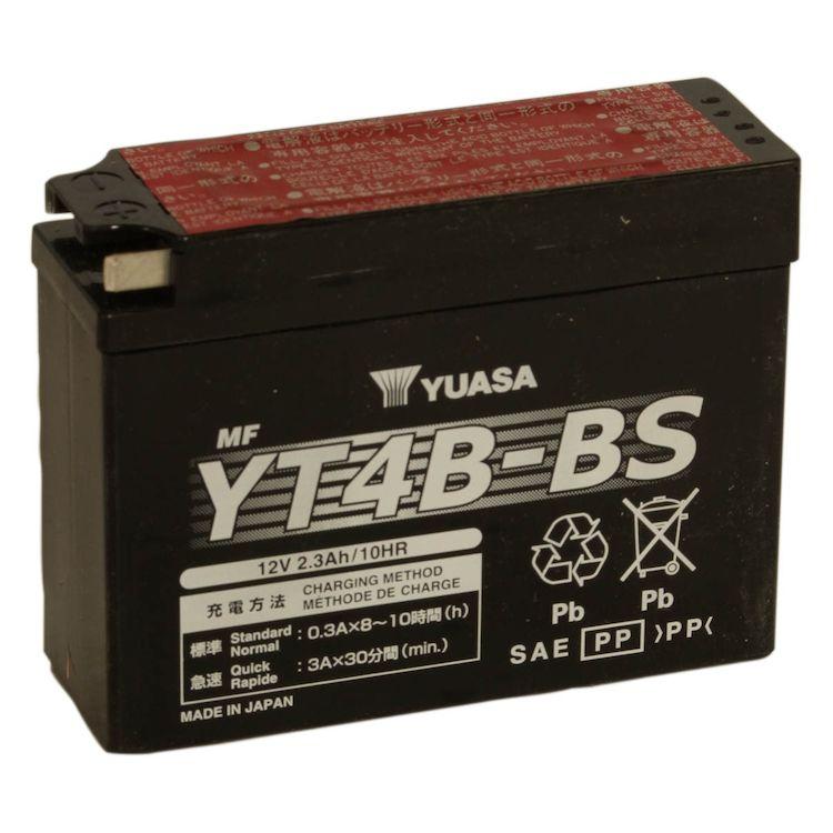 Yuasa YT4B-BS AGM Battery