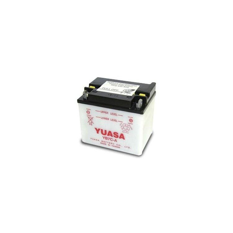 Yuasa YB7C-A Yumicron Conventional Battery