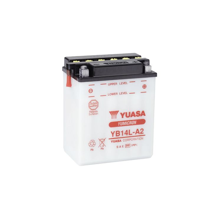 Yuasa YB14L-A2 Yumicron Conventional Battery