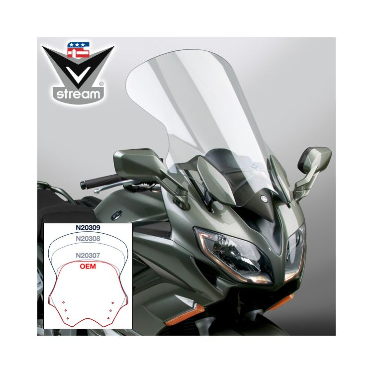National Cycle VStream Tall Touring Windscreen Yamaha FJR1300 2013-2021