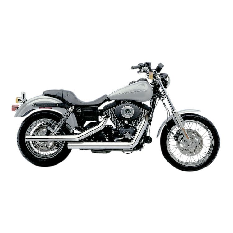 Cobra Dragsters Exhaust For Harley Dyna 1991-2005