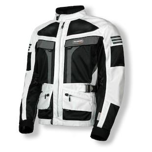 Olympia Dakar Dual Sport Jacket (Color: Ivory/Black / Size: 3XL)