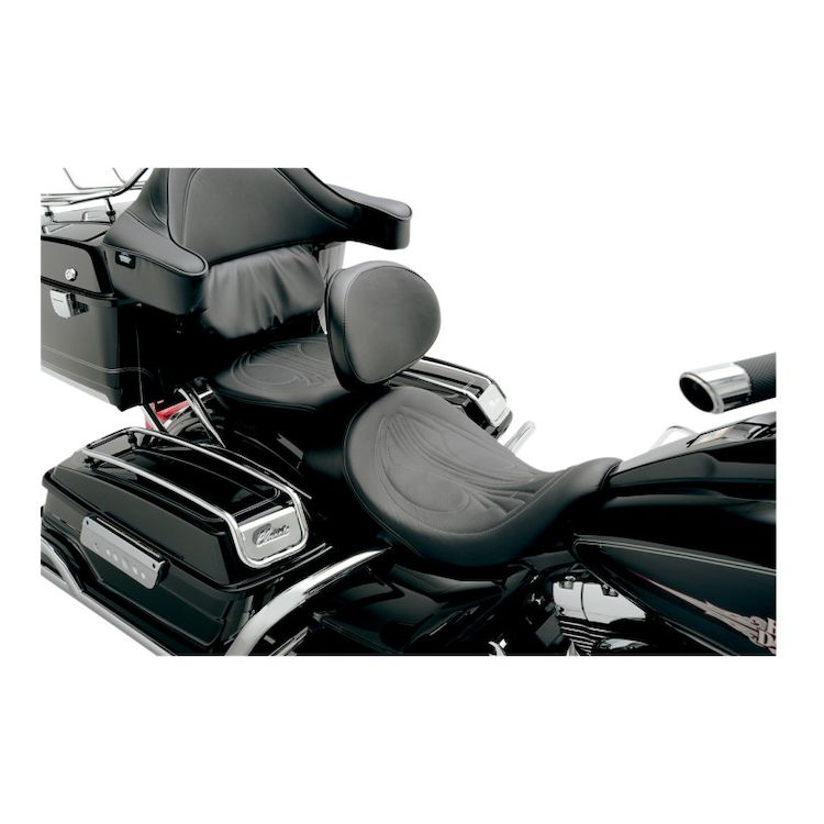 Danny Gray AirHawk BigSeat With Driver's Backrest Capability For Harley Touring 2008-2020
