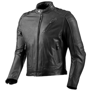 REV'IT! Red Hook Leather Jacket (Size 58 Only) (Color: Black / Size: 58) 940365
