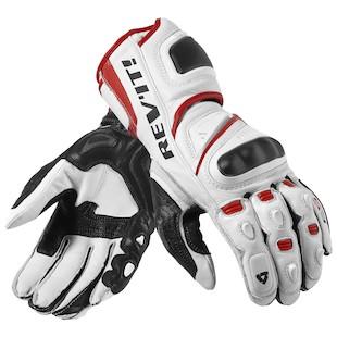 REV'IT! Jerez Pro Gloves (Color: White/Red / Size: XS) 940336