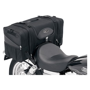 Saddlemen TS3200DE Deluxe Cruiser Tail Bag (Color: Black) 622232