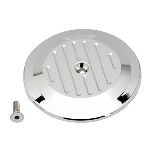 Joker Machine Milled Air Cleaner Insert For Harley Twin Cam 1999-2015 (Finish: Chrome) 941465