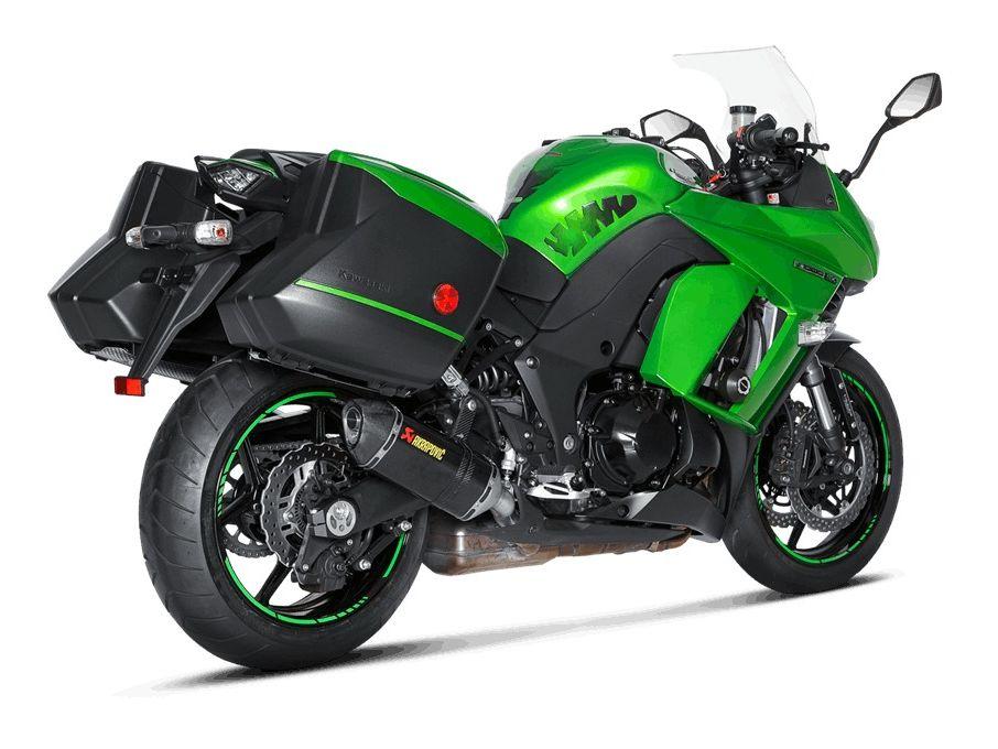 Akrapovic Slip On Exhaust Kawasaki Ninja 1000 2014 2019 Cycle Gear