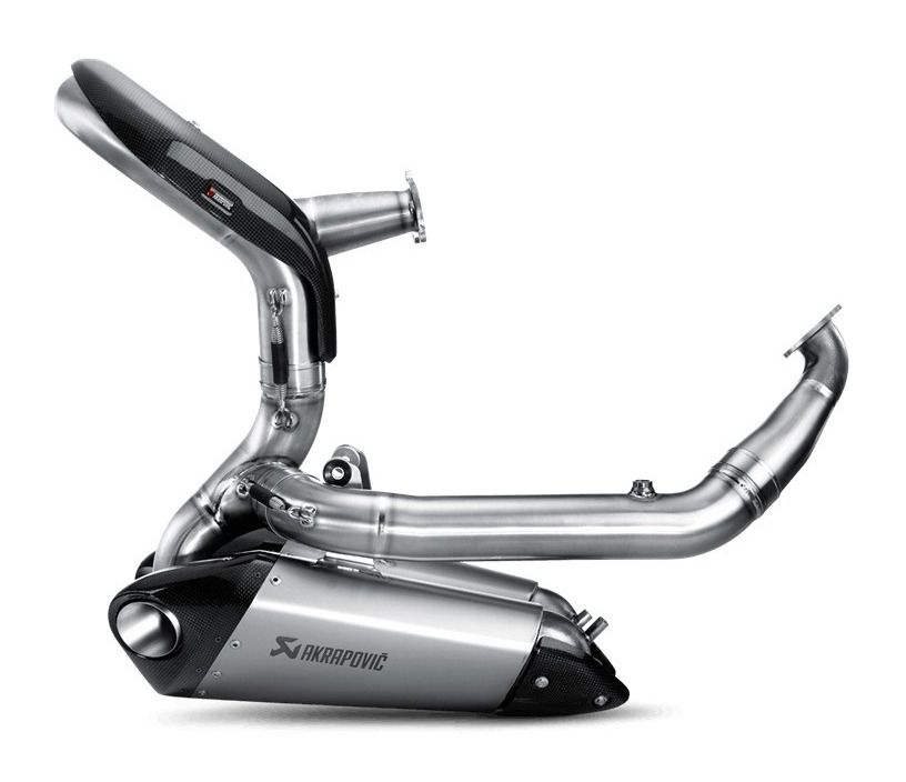 akrapovic evolution exhaust system ducati panigale 899 / 1199