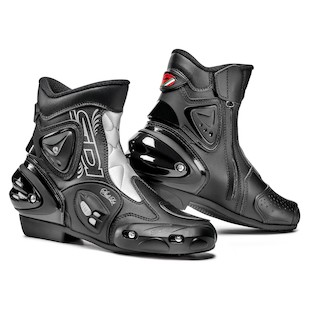 SIDI Apex Lei Women's Boots (Color: Black/Silver / Size: 9.5/42) 941969