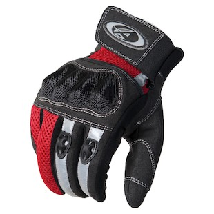 AGV Sport Mercury Gloves (Color: Black/Red / Size: MD) 941947