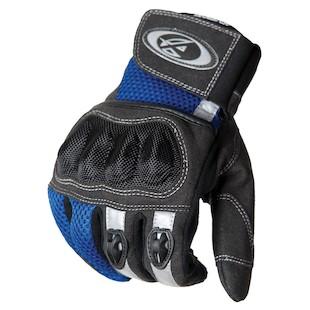 AGV Sport Mercury Gloves (Color: Black/Blue / Size: SM) 941936