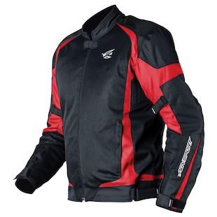 AGV Sport Blast Jacket (Color: Black/Red / Size: XL) 942201
