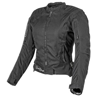 Speed and Strength Heart And Soul Women's Textile Jacket (Color: Black/Silver / Size: WXS) 942892