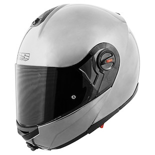 Speed and Strength SS1700 Solid Speed Modular Helmet (Color: Silver / Size: SM) 944354