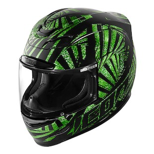 Icon Airmada Spaztyk Helmet (Size XL Only) (Color: Green / Size: XL) 946133
