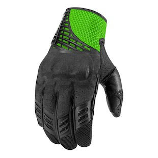 Icon Sanctuary Gloves (Color: Green / Size: SM) 946198