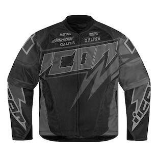 Icon Hooligan Spaztyk Jacket (Size MD Only) (Color: Black / Size: MD) 946280