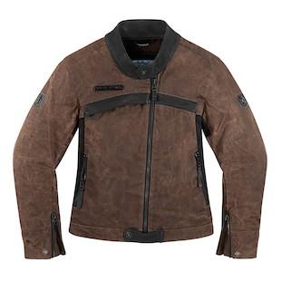 Icon 1000 Hella Women's Jacket (Color: Brown / Size: SM) 946329
