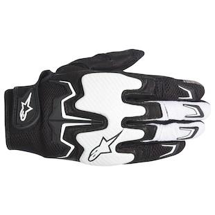 Alpinestars Fighter Air Gloves (Color: Black/White / Size: MD) 946733
