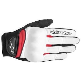 Alpinestars Spartan Gloves (Color: White/Black/Red / Size: 3XL) 946923