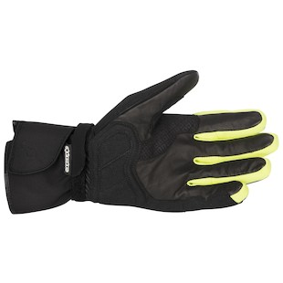 Alpinestars Valparaiso Drystar Gloves (Color: Black/Yellow / Size: MD) 946971